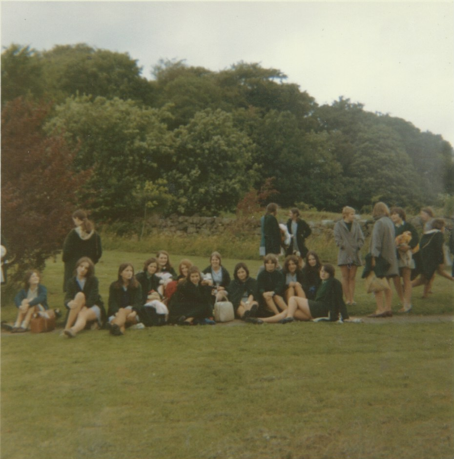 Pupil Spectators for some event circa 1969 to 1970